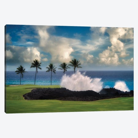 Golf Wave Canvas Print #DEN724} by Dennis Frates Canvas Art