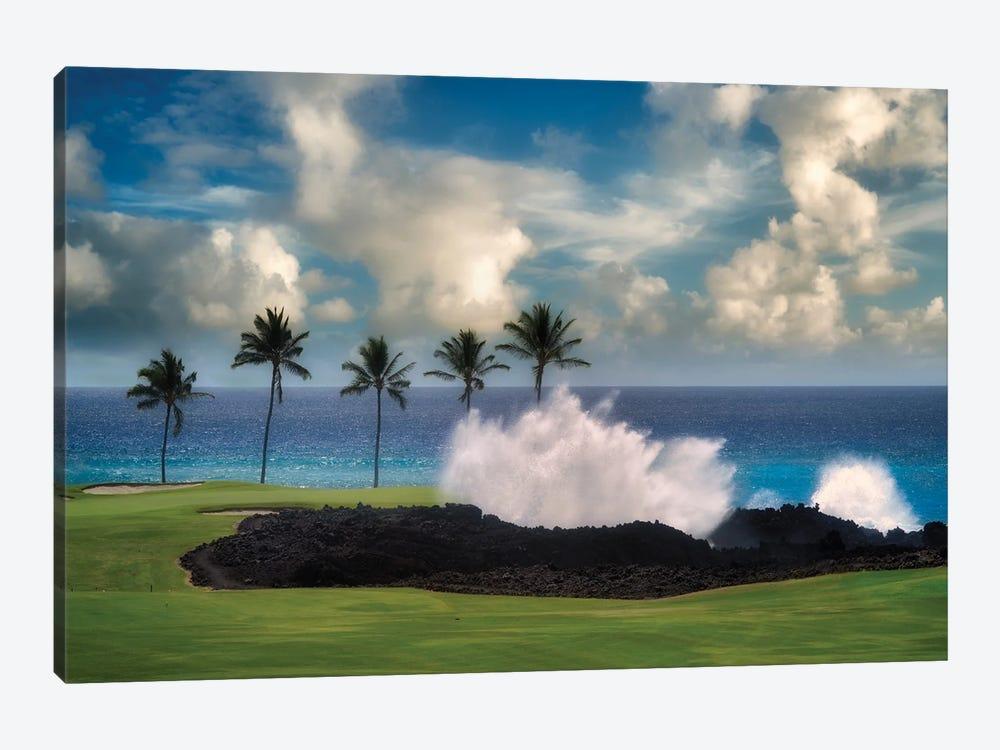 Golf Wave by Dennis Frates 1-piece Canvas Art Print