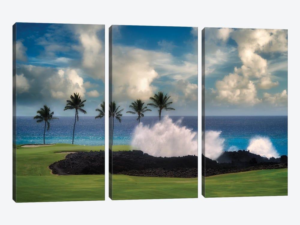 Golf Wave by Dennis Frates 3-piece Art Print