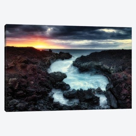 Tropical Inlet II Canvas Print #DEN726} by Dennis Frates Canvas Art