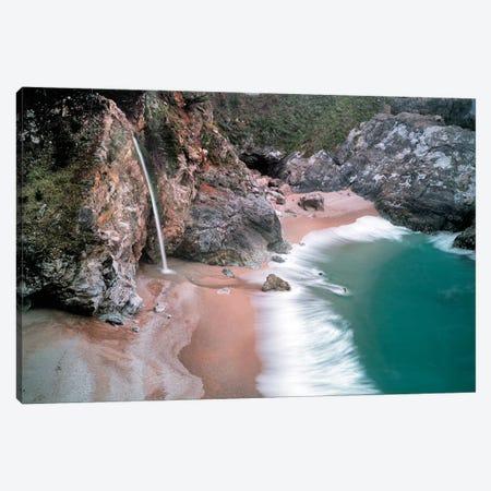 Coastal Waterfall Canvas Print #DEN74} by Dennis Frates Art Print