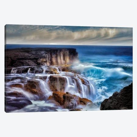 Ocean Wave Waterfall Canvas Print #DEN751} by Dennis Frates Canvas Art
