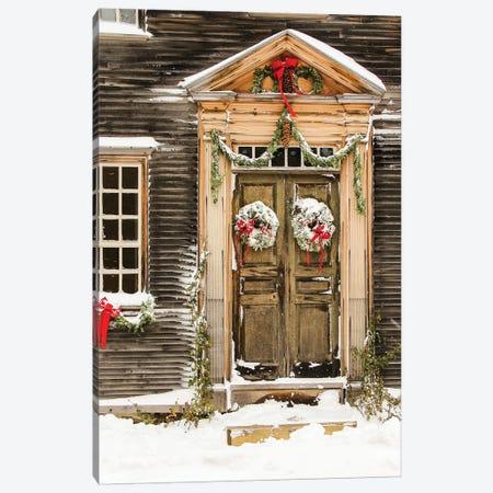 Winter Holidays Canvas Print #DEO100} by Debbra Obertanec Canvas Art