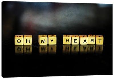Oh My Heart Canvas Art Print