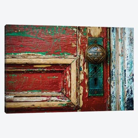 Red Door Canvas Print #DEO125} by Debbra Obertanec Canvas Print