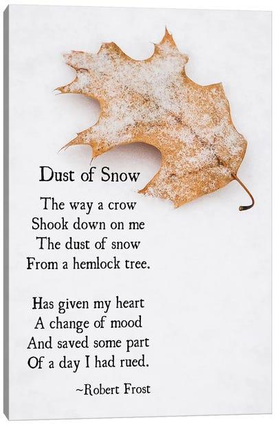 Dust Of Snow Canvas Art Print