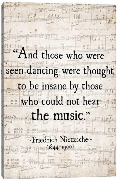 Fredrich Nietzsche Canvas Art Print