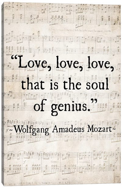 Love Love Love Canvas Art Print
