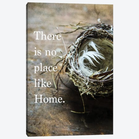 No Place Like Home Canvas Print #DEO50} by Debbra Obertanec Art Print