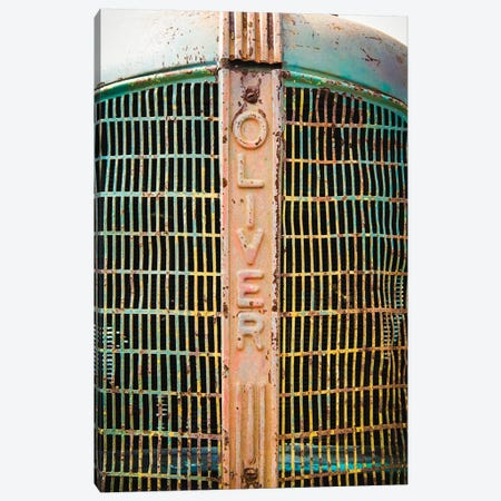 Oliver Vintage Tractor 3-Piece Canvas #DEO53} by Debbra Obertanec Canvas Print