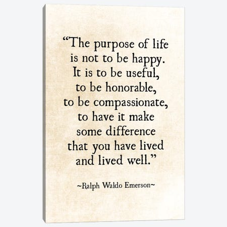 Purpose Of Life Canvas Print #DEO61} by Debbra Obertanec Canvas Artwork