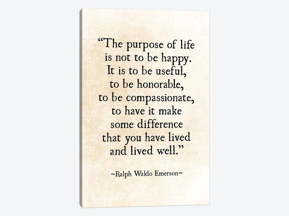 Purpose Of Life by Debbra Obertanec 1-piece Canvas Wall Art