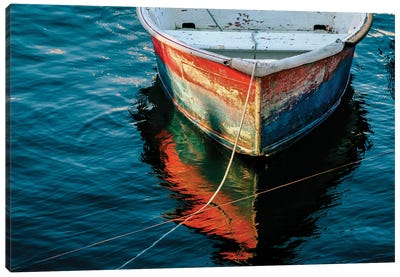 Red Dory Canvas Art Print