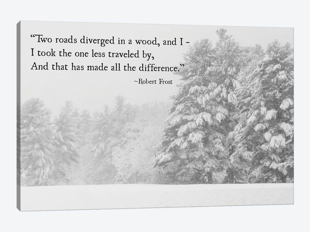 Two Roads Diverged by Debbra Obertanec 1-piece Art Print