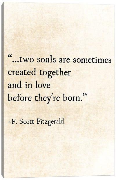 Two Souls Canvas Art Print