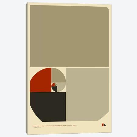 Golden Ratio Canvas Print #DES10} by 2046 Design Canvas Art Print