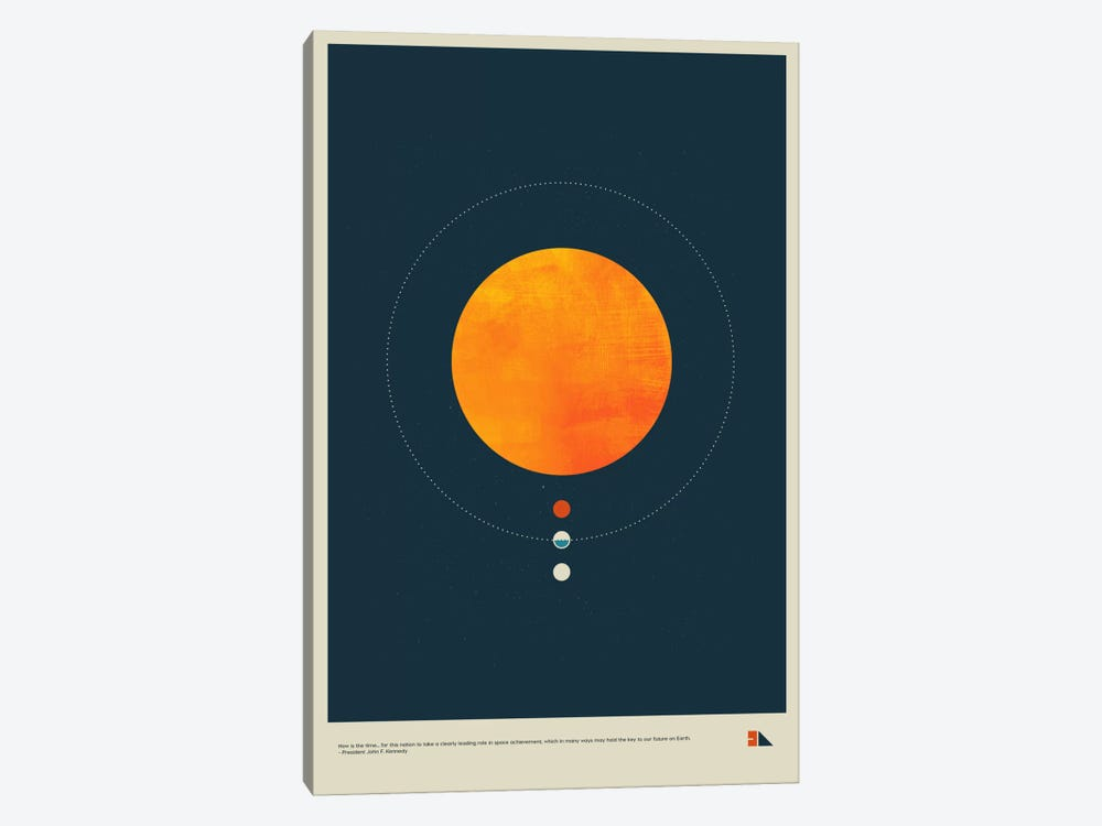 Habitable Zone by 2046 Design 1-piece Canvas Wall Art