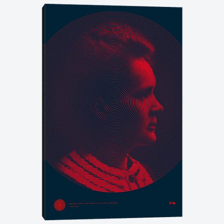 Marie Curie Canvas Print #DES12} by 2046 Design Canvas Art Print