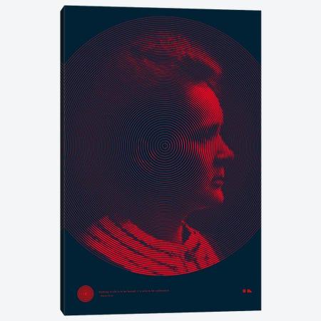 Marie Curie Canvas Print #DES12} by 2046 Design Canvas Art Print