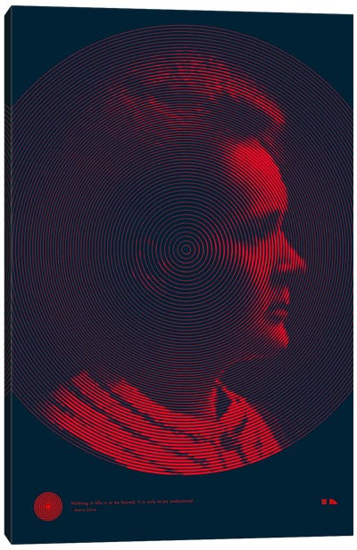 Marie Curie Canvas Art Print