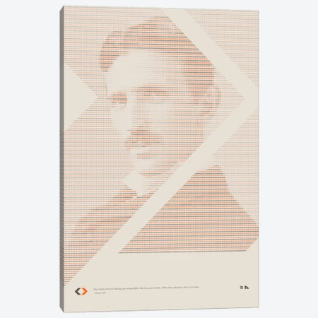 Nikola Tesla Canvas Print #DES14} by 2046 Design Canvas Wall Art