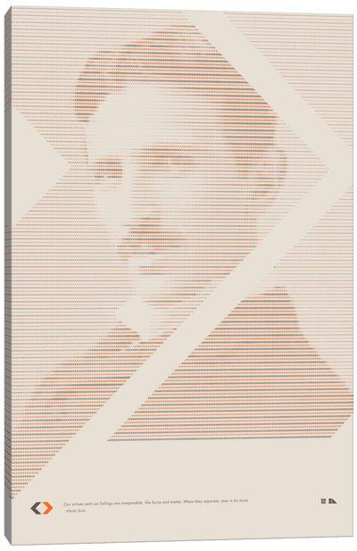 Nikola Tesla Canvas Print #DES14