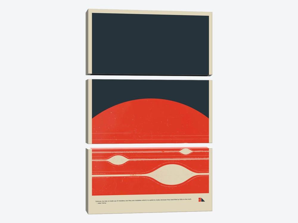 Jupiter by 2046 Design 3-piece Canvas Art Print