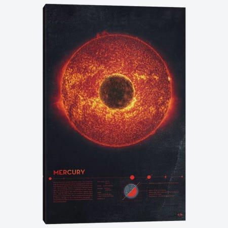 Mercury Canvas Print #DES18} by 2046 Design Canvas Print