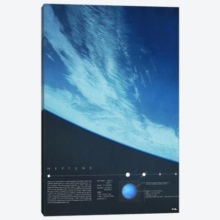 Neptune Canvas Print #DES19} by 2046 Design Canvas Print