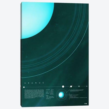 Uranus Canvas Print #DES21} by 2046 Design Canvas Art