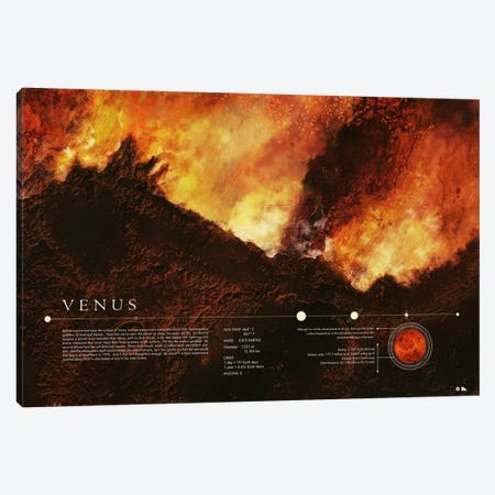 Venus Canvas Print #DES22} by 2046 Design Canvas Art