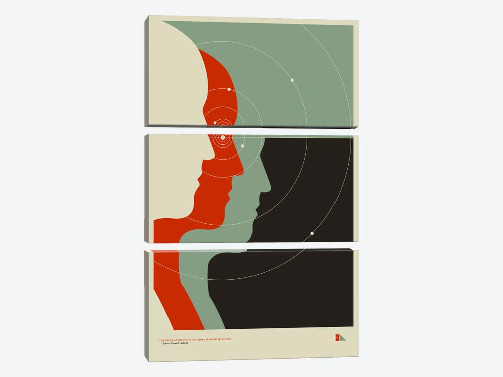Spectrometer by 2046 Design 3-piece Canvas Art
