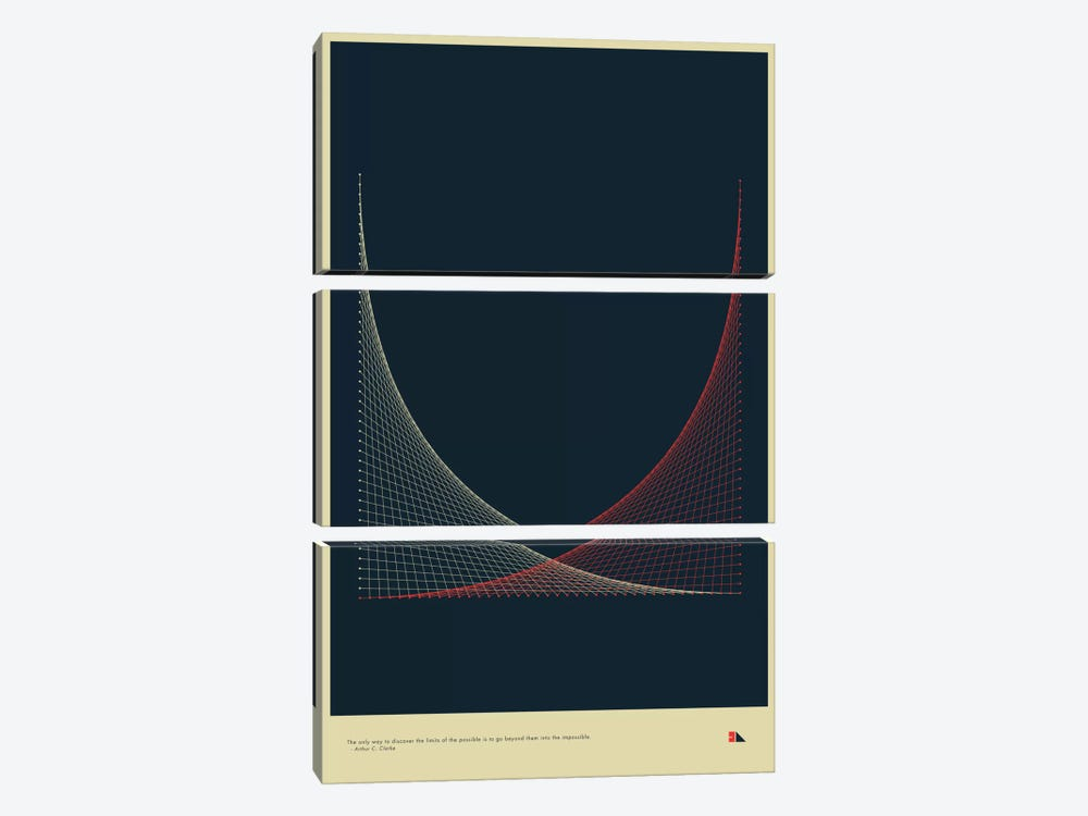 Strings by 2046 Design 3-piece Canvas Artwork