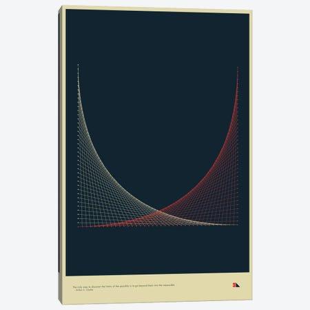Strings Canvas Print #DES26} by 2046 Design Canvas Art Print