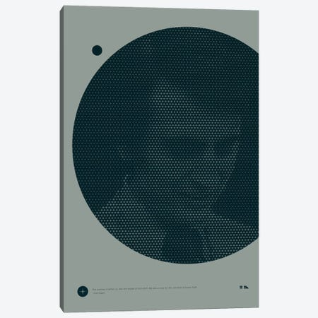Carl Sagan Canvas Print #DES2} by 2046 Design Canvas Art Print