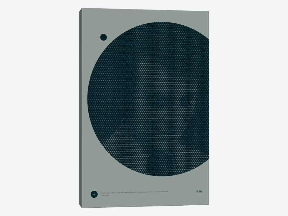 Carl Sagan by 2046 Design 1-piece Canvas Art
