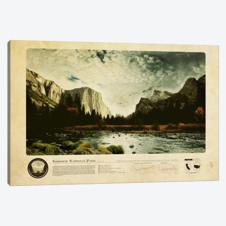 Yosemite National Park Canvas Print #DES30} by 2046 Design Canvas Print