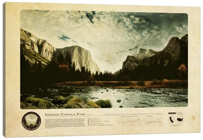 Yosemite National Park Canvas Art Print