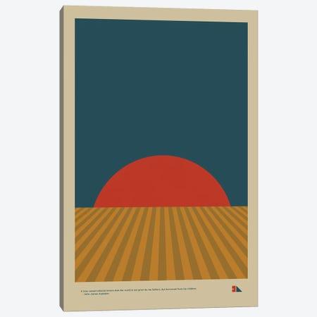 Grain 3-Piece Canvas #DES31} by 2046 Design Canvas Art Print