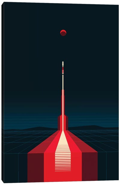 Lift Off Canvas Art Print