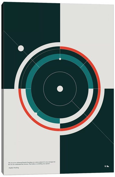 Orbits Canvas Art Print