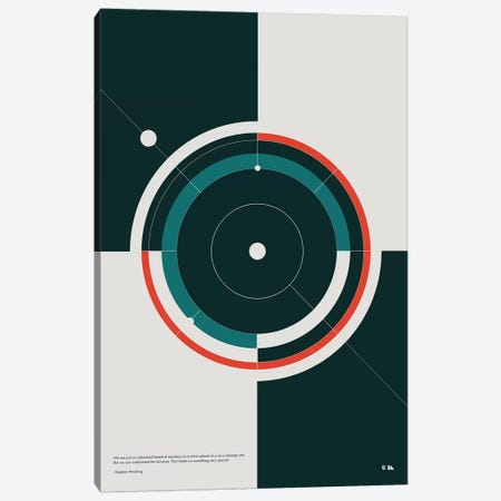 Orbits Canvas Print #DES34} by 2046 Design Canvas Artwork