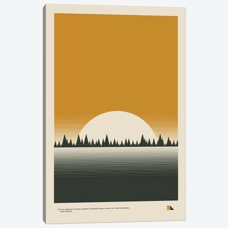 Sunset 3-Piece Canvas #DES38} by 2046 Design Canvas Art Print