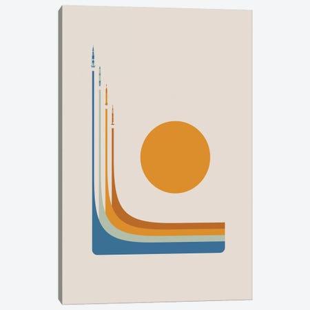 Space Race - NASA Canvas Print #DES39} by 2046 Design Canvas Art Print