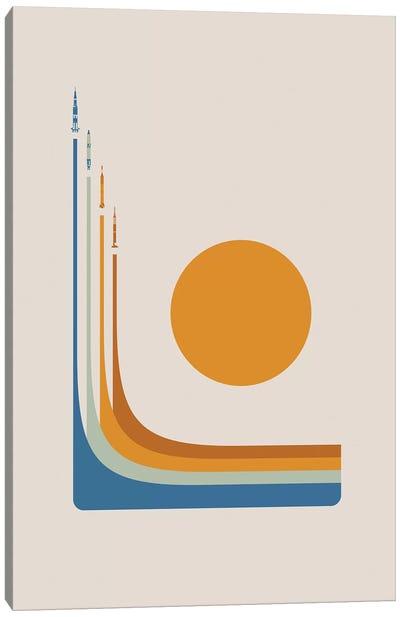 Space Race - NASA Canvas Art Print