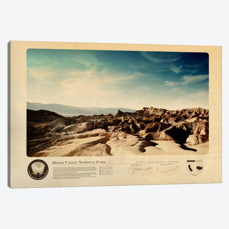 Death Valley National Park Canvas Print #DES5} by 2046 Design Canvas Art