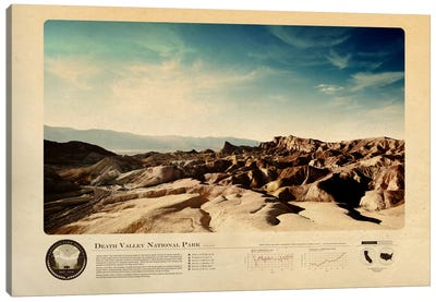 Death Valley National Park Canvas Art Print