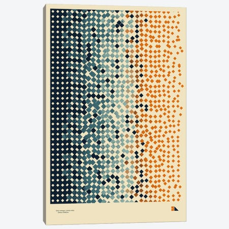 Entropy Canvas Print #DES6} by 2046 Design Canvas Wall Art