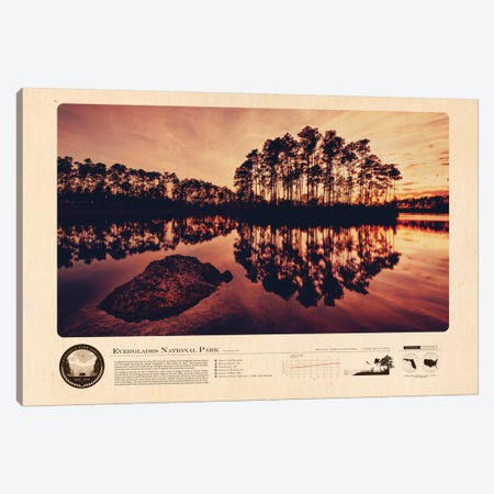 Everglades National Park Canvas Print #DES7} by 2046 Design Canvas Artwork