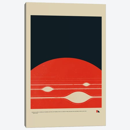 Gas Giant Canvas Print #DES8} by 2046 Design Art Print